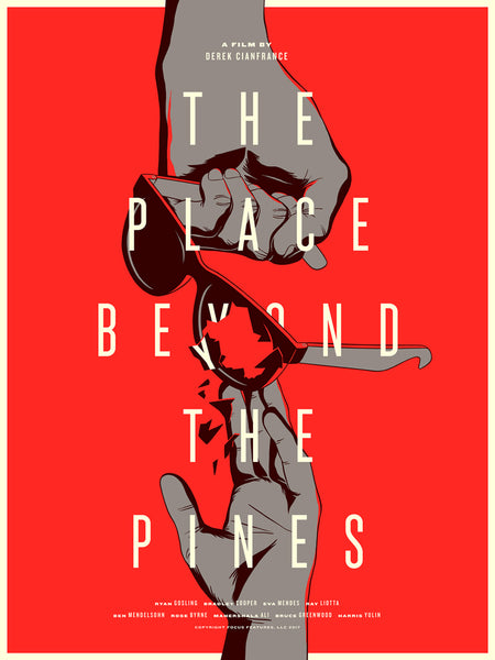 "Matt Chase ""The Place Beyond the Pines"" Print"