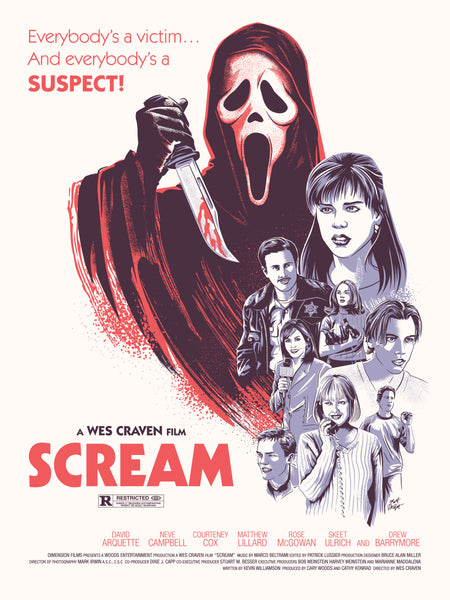 "Matt Talbot ""Scream"" Print"