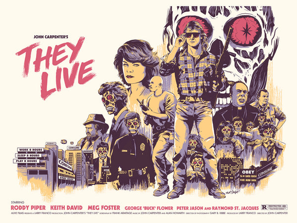 "Matt Talbot ""They Live!"" Print"