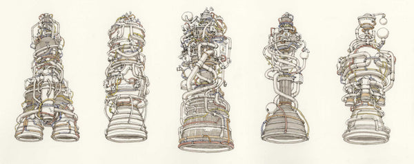 "Mattias Adolfsson ""Space Engines"""