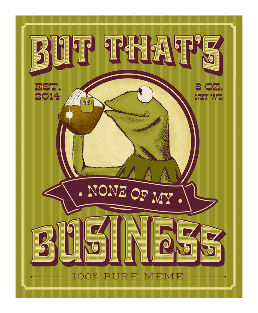 "Meg Hyland ""Business Tea"" Print"