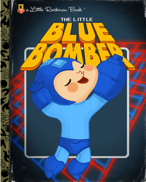 "Joey Spiotto ""The Little Blue Bomber"" Print"