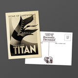 "Michael De Pippo ""Titan: of Sandworms"" Postcard Print"