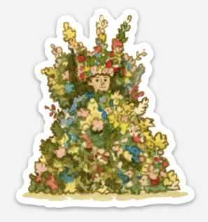 ".Scott C. ""Midsommar Showdown"" Sticker"