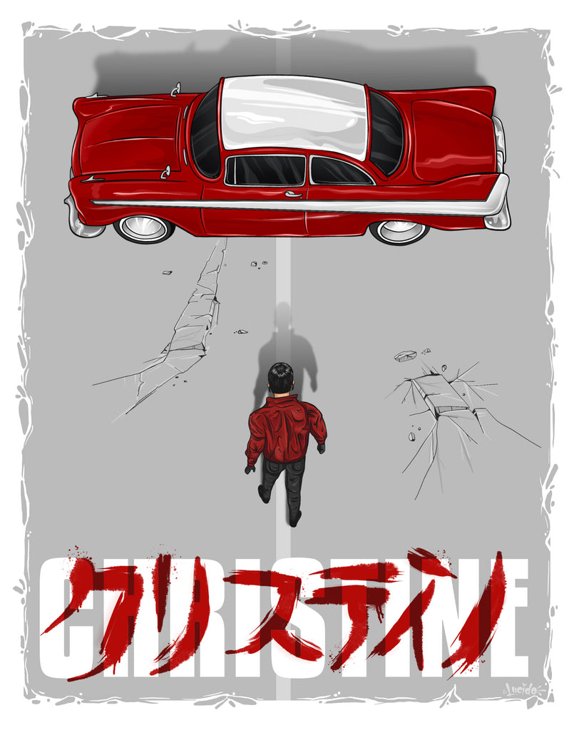 "Mike Lucido ""Christine"" Print"