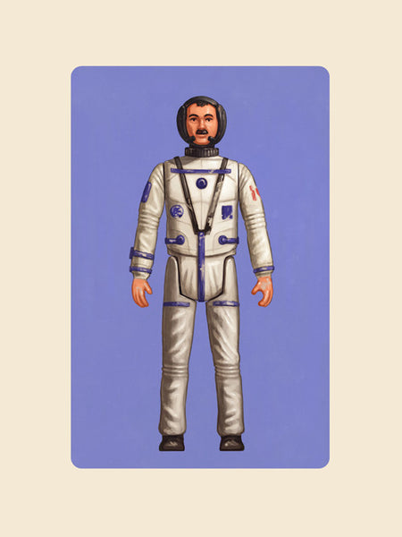 "Mike Mitchell ""Hadfield"" Print"
