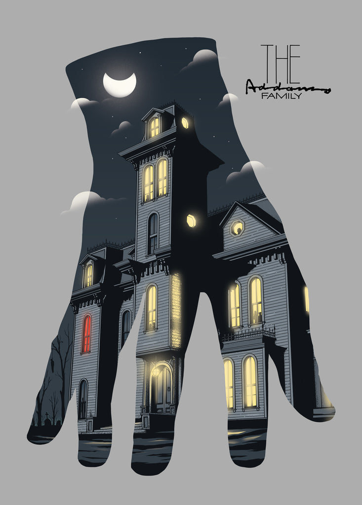 "Mikhail Rodionov ""The Addams Family"" Print"