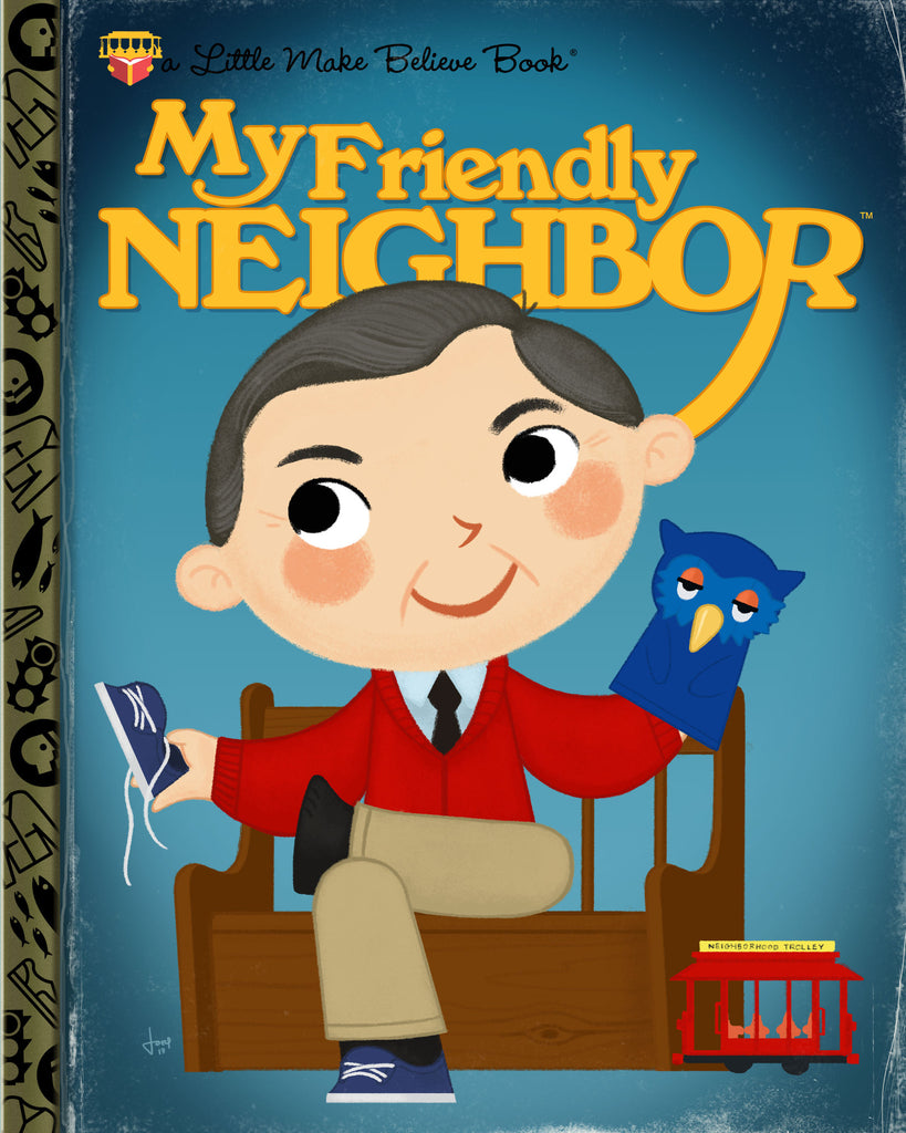 "Joey Spiotto ""My Friendly Neighbor"" Print"