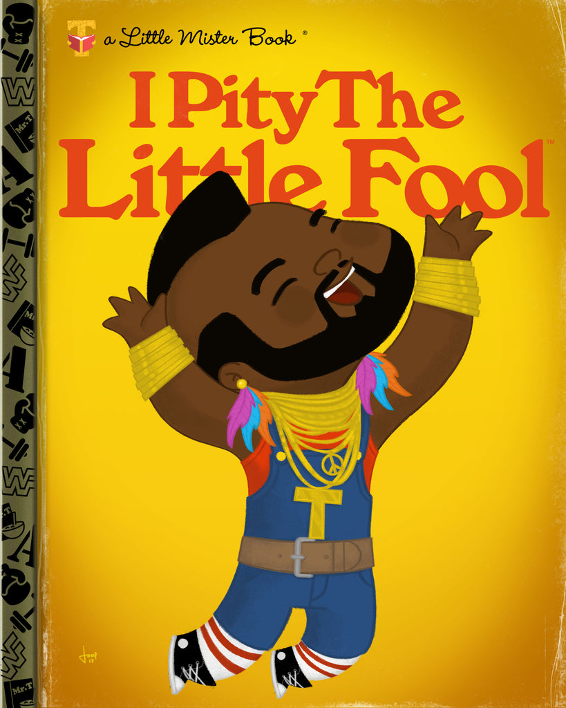 "Joey Spiotto ""I Pity the Little Fool"" Print"