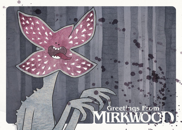 "Mister Hope ""Greetings from Mirkwood"" Postcard Print"