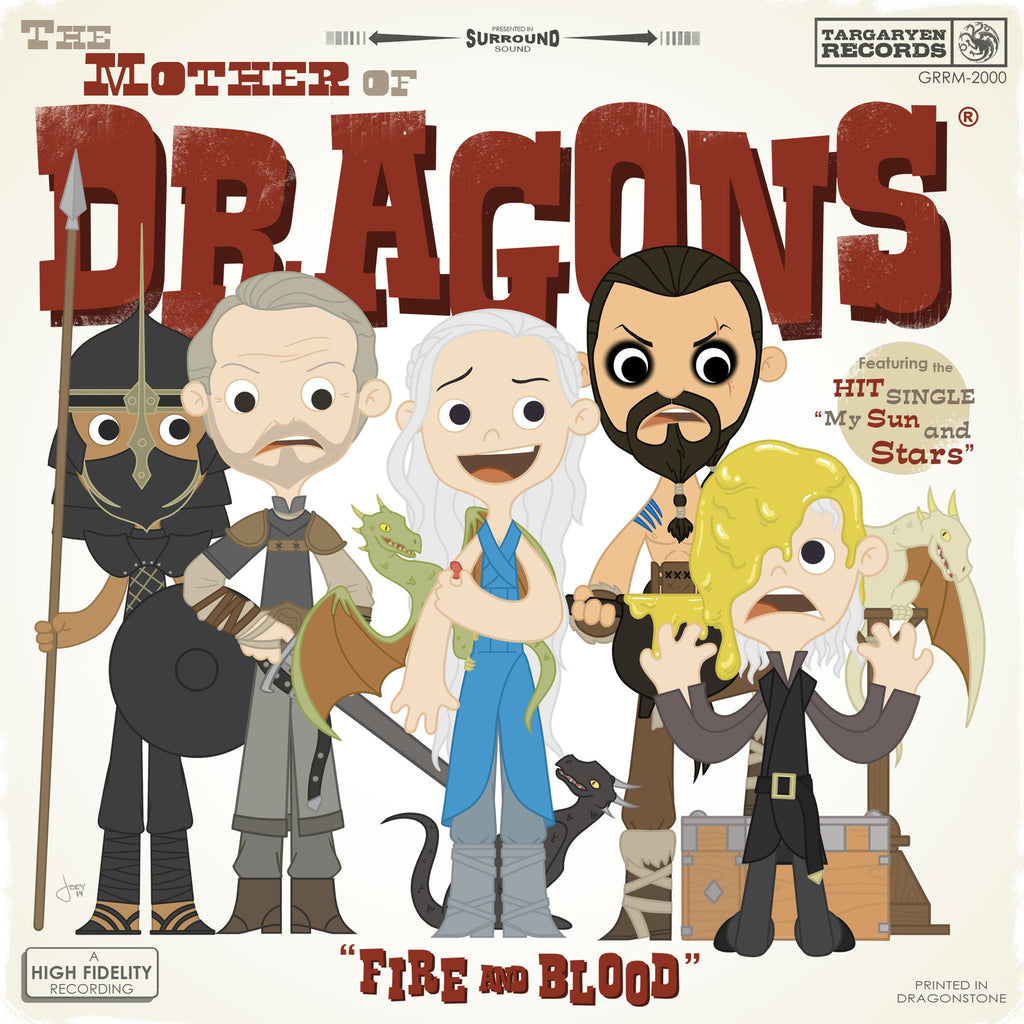 "Joey Spiotto ""The Mother of Dragons"" Print"