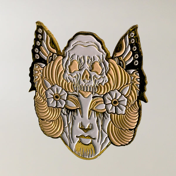 "Wizard Cleave ""Nature of the Beast (Gold Variant)"" Pin"