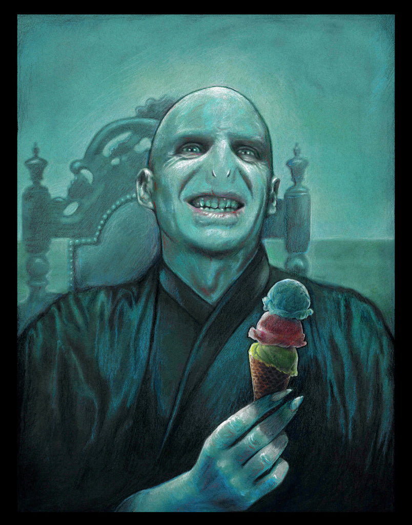 "Nathan Anderson ""Voldemort Gets Ice Cream"" Print"