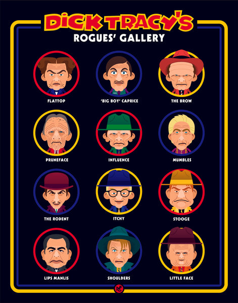 "Nic Cowan ""Rogues' Gallery"" Framed Print"