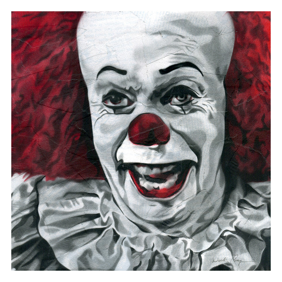"Nick Comparone ""They all float!"" Print"