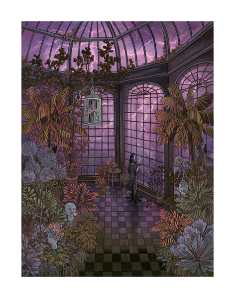 "Nicole Gustafsson ""What a Glorious Evening"" Print"