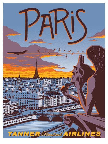 "Eric Tan ""Paris"" Print"