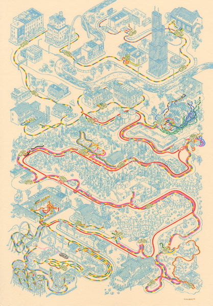 "Andrew DeGraff ""Paths of the Griswolds"""