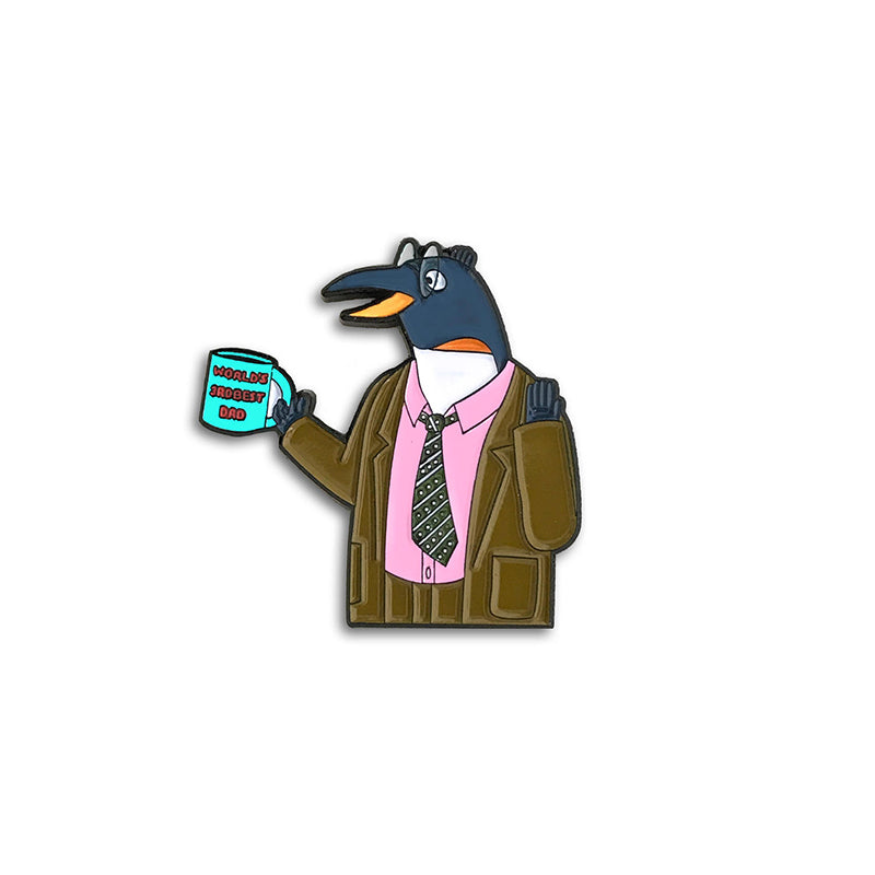 "Patti Lapel ""Pinky Penguin"" Enamel Pin"