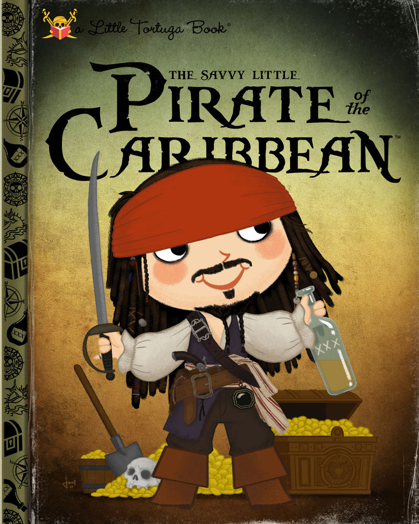 "Joey Spiotto ""The Savvy Little Pirate of the Caribbean"" Print"