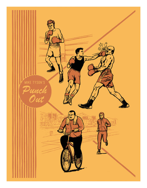 "Alex Campos ""Punch Out"" Print"