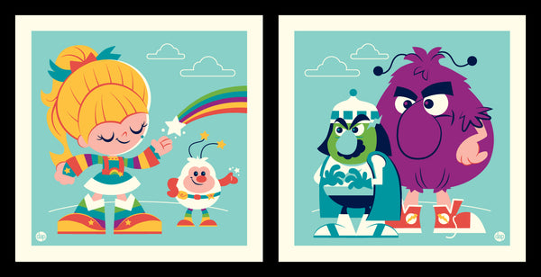 "Dave Perillo ""Rainbow Vs Murky"" Print Set"