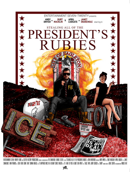 "Raphael Kelly ""All of the President's Rubies"" Print"