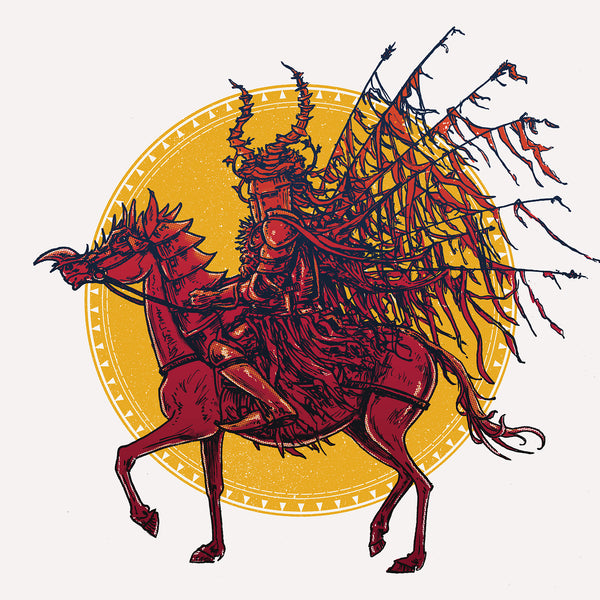 "Barry Blankenship ""Red Knight"" Print"