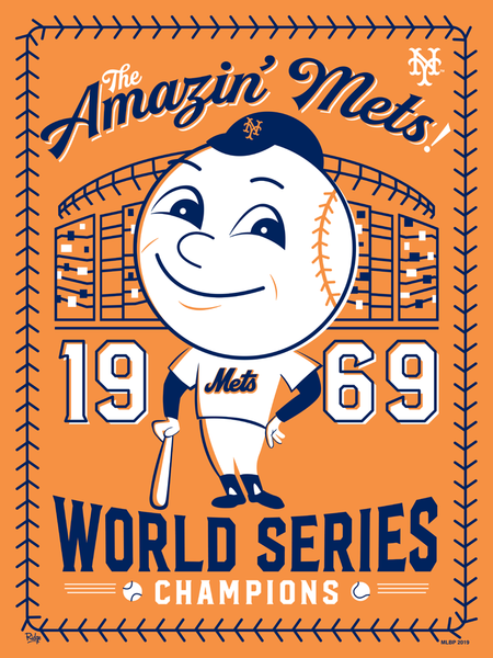 "Ridge ""The Amazin' Mets!"" Print"