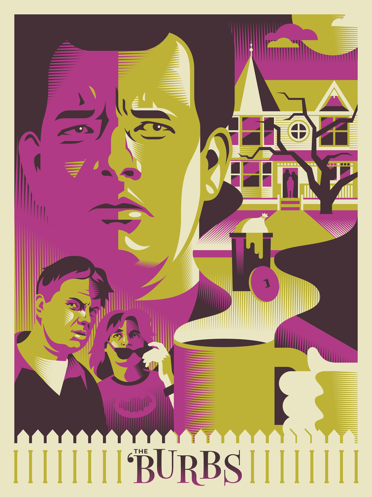 "Ryan Brinkerhoff ""Do Not Mess With Suburbanites"" Print"