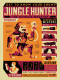 "Ryan Brinkerhoff ""Get to Know Your Enemy: Jungle Hunter"" Framed Print"