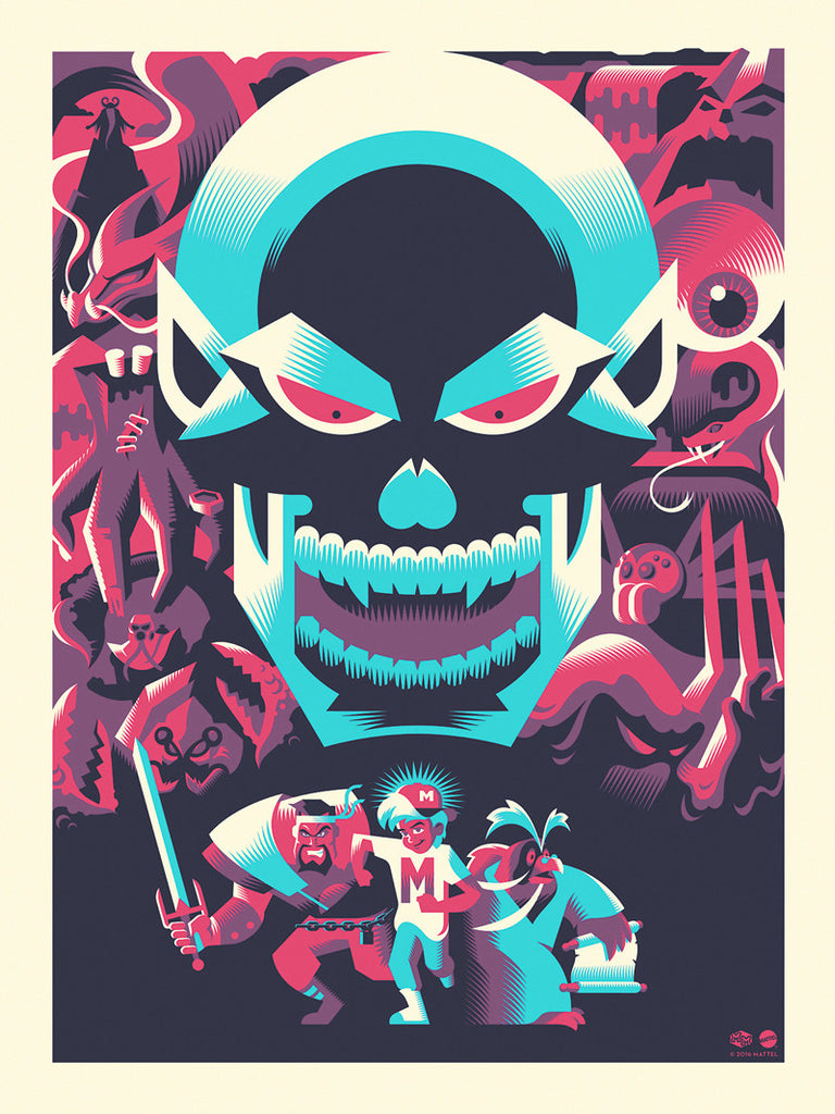 "Ryan Brinkerhoff ""The Mighty One"" Print"