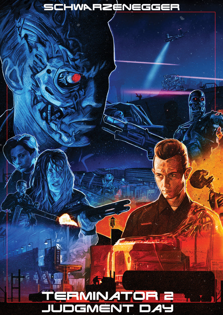 "Ryan Crosby ""Terminator 2: Judgment Day"" Print"