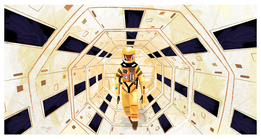 "Ryan Hungerford ""Space Odyssey"" Print"