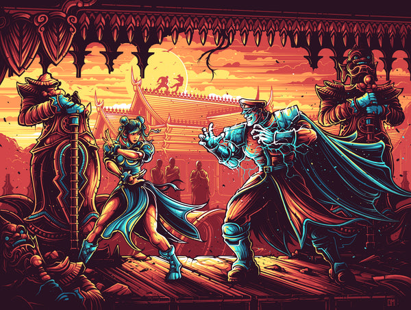 "Dan Mumford ""You're no match for my Psycho Power."" Print"
