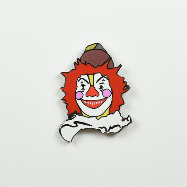 "SUPER SECRET FUN CLUB ""Creepy Clown"" Pin"