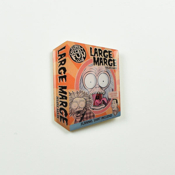 "SUPER SECRET FUN CLUB ""Large Marge"" Pin"