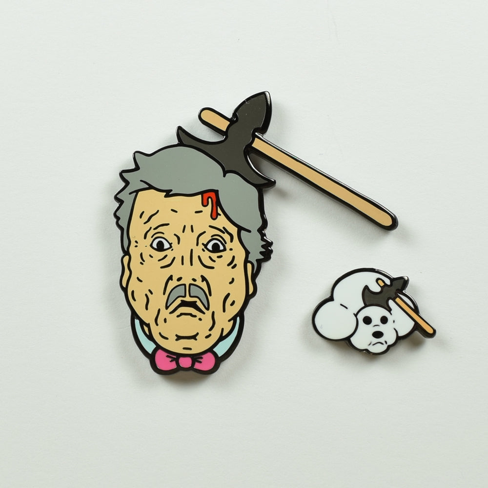 "SUPER SECRET FUN CLUB ""Walter & Queenie"" Pin Set"
