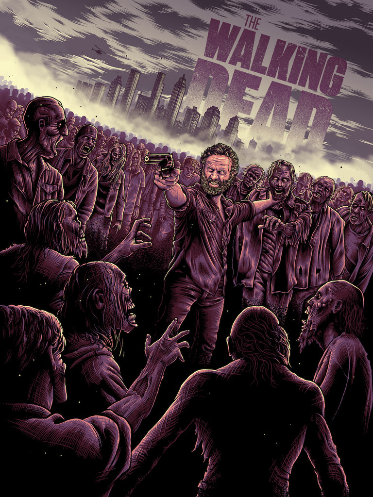"Sam Mayle ""The Walking Dead"" Print"