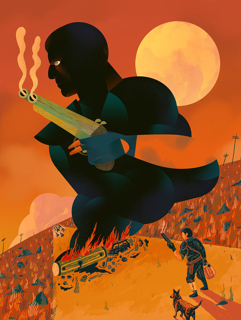 "Scott Balmer ""The Road Warrior"" Print"