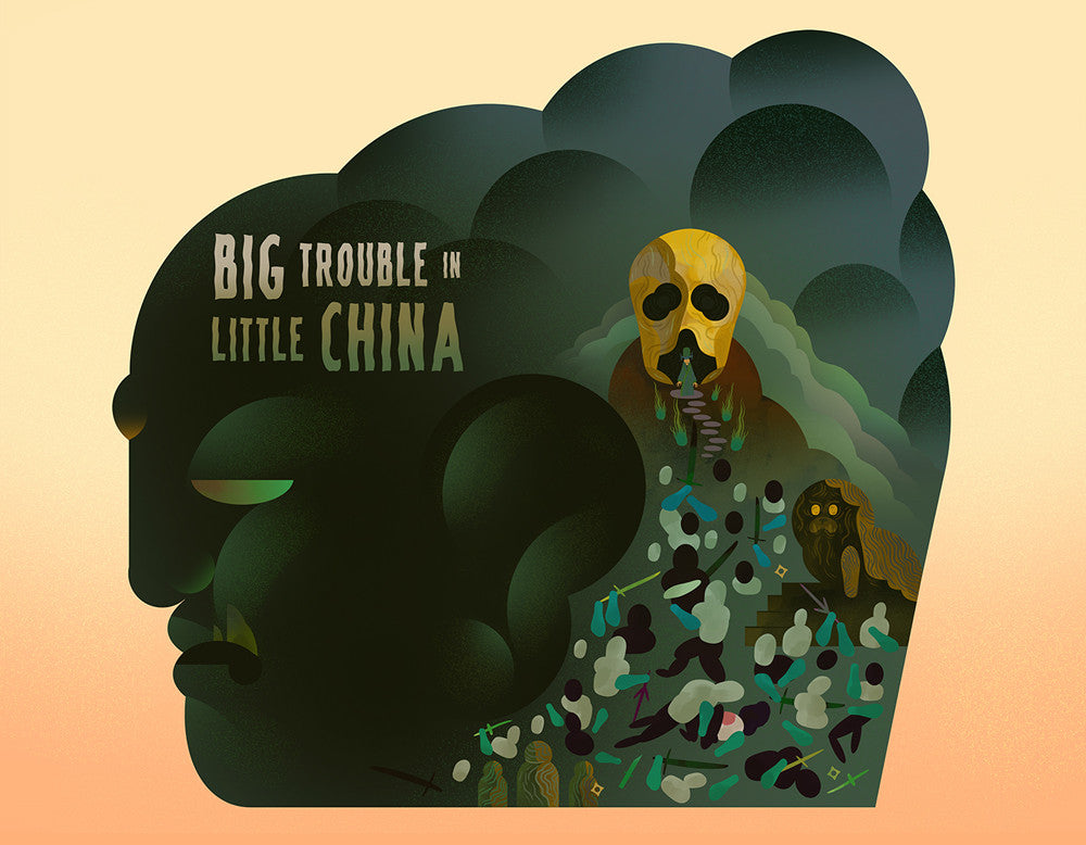 "Scott Balmer ""Big Trouble in Little China"" Print"