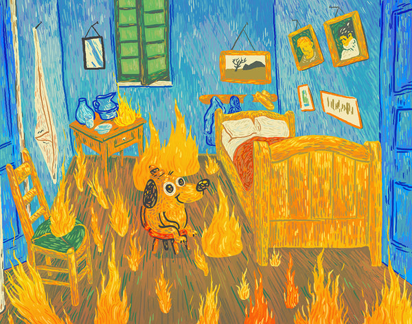 "Scott Balmer ""This is Fine… Art?"" Print"