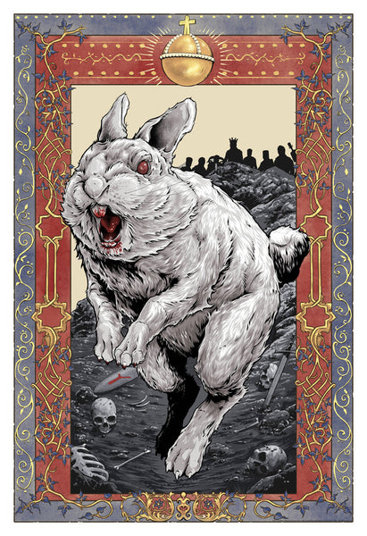 "Scott Buoncristiano ""Well, that's no ordinary rabbit."" Print"