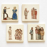 "Scott C. ""Cheers"" Coaster Set"