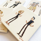 "Scott C. ""Dance Party"" Coaster Set"