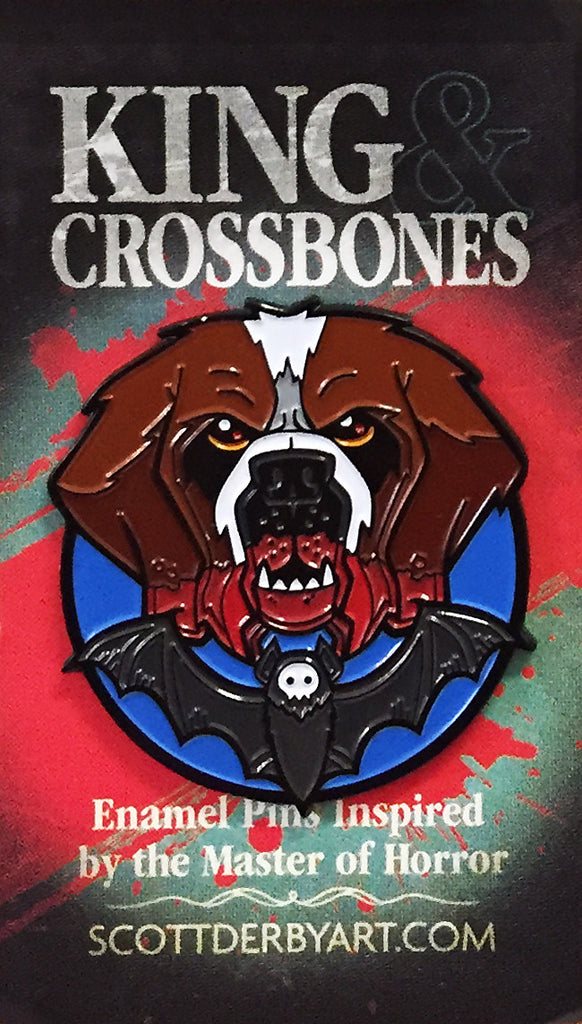 "Scott Derby ""King & Crossbones: Cujo"" Pin"