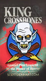 "Scott Derby ""King & Crossbones: Barlow"" Pin"
