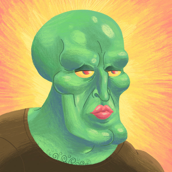 "Scott Balmer ""Handsome Squidward"""