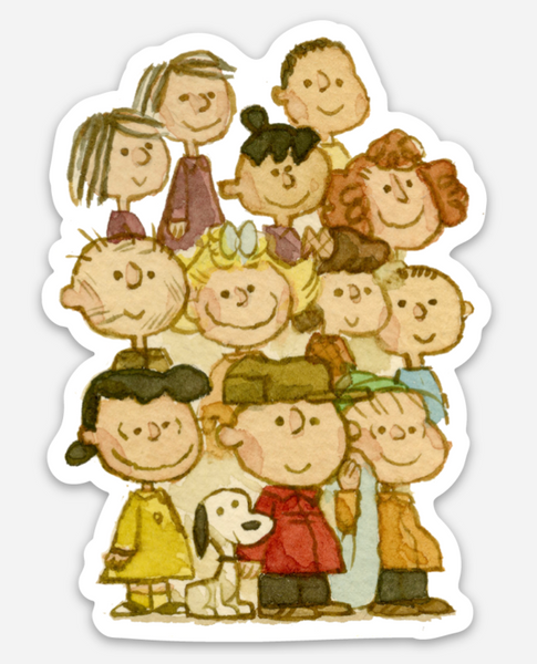 ".Scott C. ""Peanuts Showdown"" Sticker"