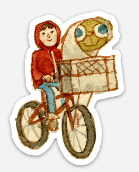 ".Scott C. ""E.T. Showdown"" Sticker"